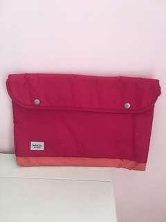 Hellolulu 桃紅色手提電腦袋15吋