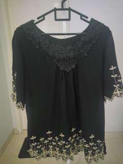 Black Motif Shirt