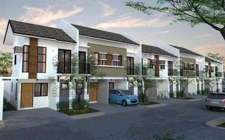 House and Lot in Talisay City Townhouse Model