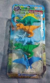 Dinosaur designed Erasers