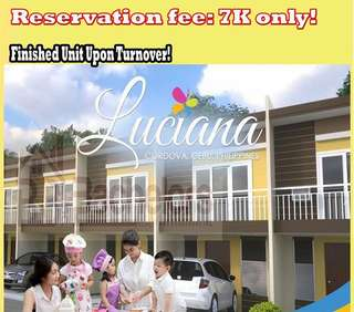 Luciana Block Townhouse in Cordova Cebu