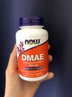 Now foods DMAE supplements 250mg 100capsules