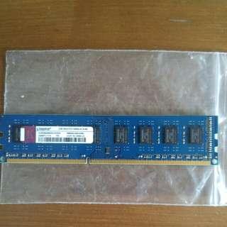 Kingston DDR3-1333, 2GB