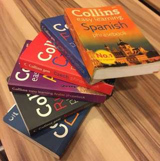 Phrasebooks for Travelling