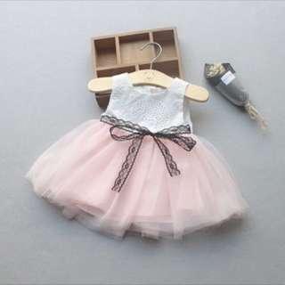 Baby Girl Tutu Dress princess dress infant newborn toddler