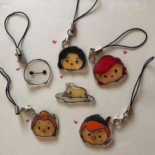 Customizable Disney Tsum Tsum Charms
