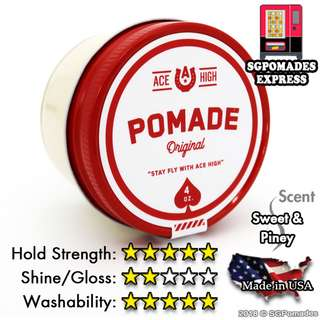(Free mail) Ace High Original Pomade Waterbased