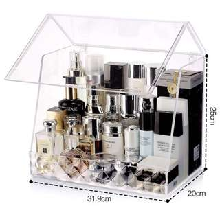 Transparent Cosmetic Storage Box