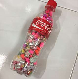 A bottle of paper stars