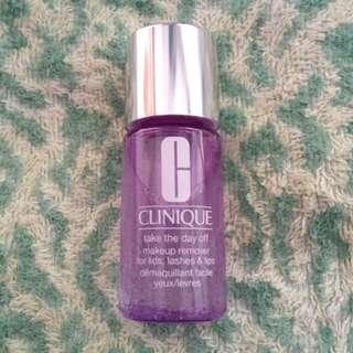 (包郵) 30ml Clinique 眼部及唇部卸粧液 Take The Day Off Makeup Remover For Lids, Lashes & Lips