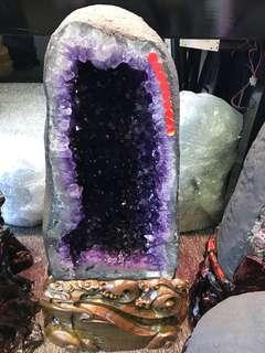 Amethyst Crystal (5A 紫晶洞 Brazil)