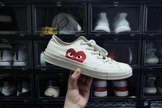 CDG Converse 70s (Cream) Size 8