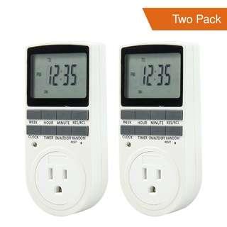 Digital Timer Smart Socket Plug in