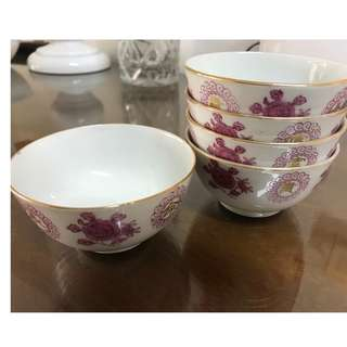 Small Chinese bowls