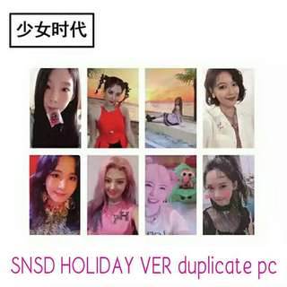 528 SNSD HOLIDAY VER DUPLICATE PC