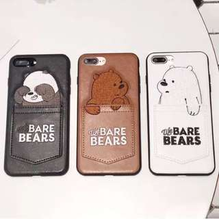 [3 For $30!] BN Cute We Bare Bears IPhone Case