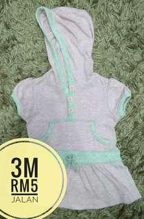 3m hoodie dress