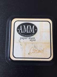 AMM Dye Inkpad - Caramel Full Sized