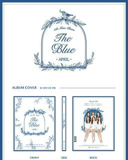 APRIL-The Blue [5th Mini Album]