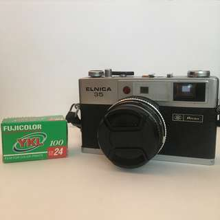 Ricoh Elnica 35 - Rangefinder Film Camera with FREE Film