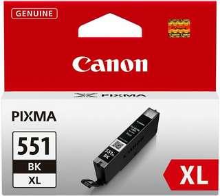 Canon Cli-551xl High Capacity Ink Cartridge, Black - 6443B001