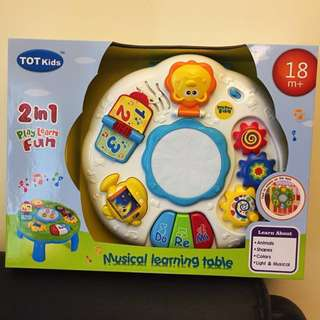 Tot Kids Musical Learning Table