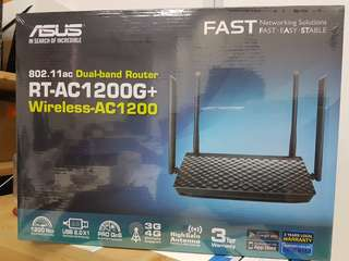 Asus RT-AC1200G+ Dual-band Router (Brand new!)