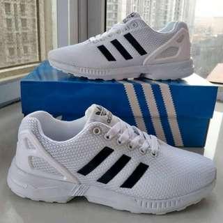 Adidas Zx Flux White Core Black