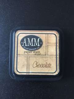 AMM Dye Inkpad - Chocolate Full Sized