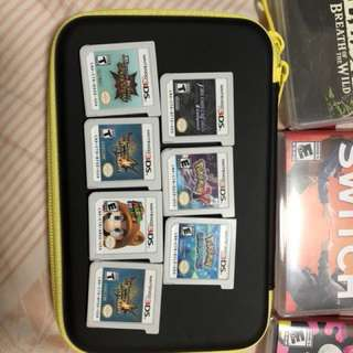 3DS games each $15
