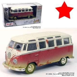 Volkswagen  VW SAMBA Old Friends collection Maisto 1:40 (11cm)