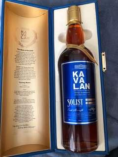 Kavalan Taiwanese Whisky solist vinho barrique