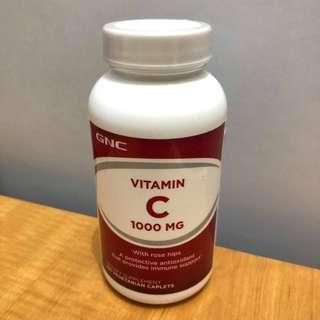 GNC 維他命C 1000mg (Vitamin C) 100粒