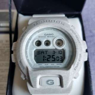 95%新 CASIO G-SHOCK 6900 x 白色