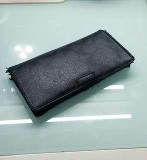 COACH MEN Wallet 長型銀包 <二手>