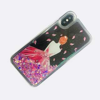 Iphone X Case Girly Glitter Case