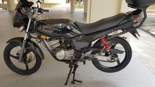 WTT with 4stroke bike (wave,x1r,x1) or for sale