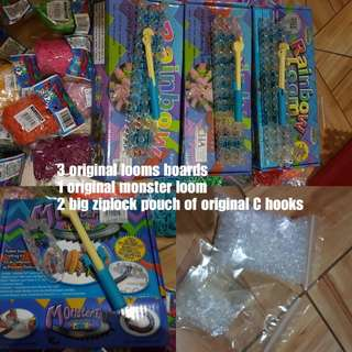ORIGINAL RAINBOW LOOM BOARDS AND BANDS
