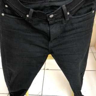 Levi's 501 Black Skinny Fit