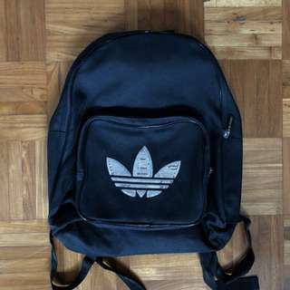 Adidas sequined Haversack bag