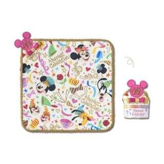 Tokyo Disneysea Disneyland Disney Resorts Sea Land 35th Anniversary Happiest Celebration Mickey Minnie Mouse Mini Towel Preorder