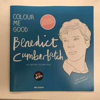 Colour Me Good BENEDICT CUMBERBATCH colouring book
