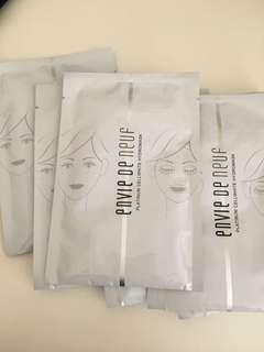 Paper mask envie de neuf 美白補濕