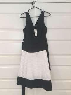 Target Black and White Dress