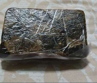1 pound Raw African Black Soap (454g)