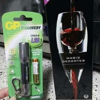 🍷快速醒酒器(送萬用刀🔧+最新款GP LED電筒🔦)