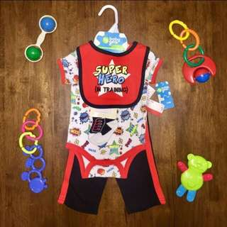 BabyGear 4pc Set