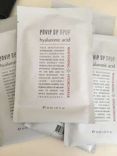 Envie de neuf 透明質酸補濕paper mask