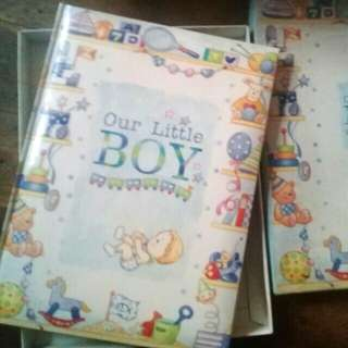 Our Little Boy Story/Memory Book