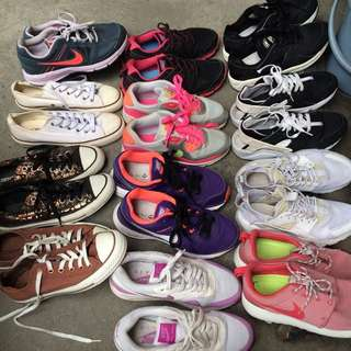 Authentic shoe collection!